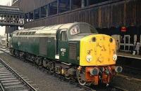 40122 poses at Manchester Victoria.<br><br>[Ian Dinmore&nbsp;//]