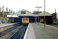 Lowestoft station with roof intact, 1983.<br><br>[Ian Dinmore&nbsp;//1983]