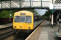 One of the last main line Class 101 Met-Cam DMUs terminating at Marple with a service from Manchester Piccadilly.<br><br>[Ian Dinmore&nbsp;//]