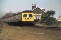 Class 107 at Castle Kennedy.<br><br>[Ian Dinmore //]
