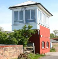 Smart looking signal box at Cupar in 2005.<br><br>[John Furnevel&nbsp;22/05/2005]