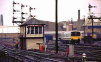 SB and stabling point at Leicester North.<br><br>[Ian Dinmore&nbsp;//]