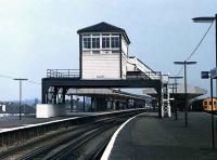 The old sb at Epsom station.<br><br>[Ian Dinmore&nbsp;//]