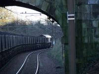 66198 at the head of a Longannet bound coal train heads towards the loop at Elderslie.<br><br>[Graham Morgan&nbsp;10/01/2007]