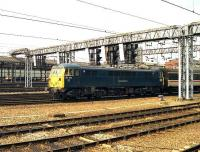 87101 heads south from Crewe station in August 1990.<br><br>[John McIntyre&nbsp;25/08/1990]