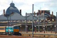 A London Liverpool Street train stands at Norwich.<br><br>[Ian Dinmore&nbsp;//]