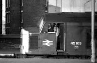 45103 at St Pancras on 20 March 1976.<br><br>[John McIntyre&nbsp;20/03/1976]