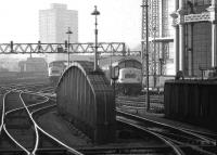 Approach to St Pancras on 20 March 1976.<br><br>[John McIntyre&nbsp;20/03/1976]