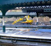 <i>Here we go again...</i>Work underway on Waverley's west end platforms on 20 January 2007.<br><br>[John Furnevel&nbsp;20/01/2007]