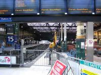 West end bays 15-18 cordoned off at Waverley on 22 January.<br><br>[John Furnevel&nbsp;22/01/2006]