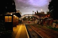 Evening at Brundall station between Norwich and Great Yarmouth in 2005.<br><br>[Ian Dinmore&nbsp;//2005]