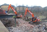 Partick Central is torn down. Utterly disgraceful. A real opportunity missed.<br><br>[Ewan Crawford&nbsp;28/01/2007]