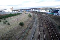 View east over Craiginches Yard which looks to be pretty much out of use.<br><br>[Ewan Crawford&nbsp;27/01/2007]