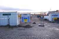 Work begins on the Union Square development on the site of the former Aberdeen Guild Street freight depot.<br><br>[Ewan Crawford 27/01/2007]