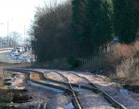 Western points of the east Loop at Alloa. A bumpy ride maybe... The track is now ready for coal trains(12.07)<br><br>[Brian Forbes&nbsp;02/02/2007]