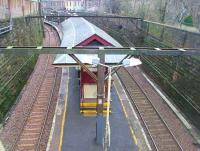 Taken from overbridge entrance to Crosshill.... just screams refurbish me!!!<br><br>[Colin Harkins 04/02/2007]