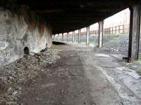 Under London Road, not many people are aware of this location. Note the partly infilled platform<br><br>[Colin Harkins&nbsp;29/01/2006]