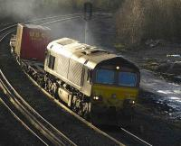 66113 with a light load passing Greenhill Lower Junction on 6 February. <br><br>[Bill Roberton&nbsp;6/02/2007]