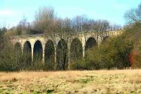 Viaduct carrying the Leslie branch over the River Leven, February 2007.<br><br>[John Furnevel&nbsp;06/02/2007]