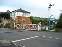 Haydon Bridge station and SB in October 2006.<br><br>[John McIntyre&nbsp;/10/2006]