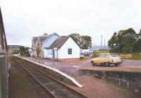 Strathcarron on a wet August evening in 1982.<br><br>[John Gray&nbsp;/08/1982]