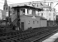 Helensburgh Central SB in April 1974 as viewed from a platform.<br><br>[John McIntyre&nbsp;/04/1974]