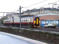 156494 passing the old SignalBox at Muirhouse.<br><br>[Colin Harkins&nbsp;10/02/2007]