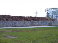The former Switchback line at London Road in February 2007... notice that all the vegetation and trees have been removed.. the land is to be part of the Glasgow 2014 Commonwealth Games Velodrome complex.<br><br>[Colin Harkins&nbsp;10/02/2007]