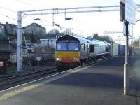 66403 on the daily <i>W. H. Malcolm</i> Elderslie to Grangemouth service at Paisley Gilmour Street.<br><br>[Graham Morgan&nbsp;10/01/2007]