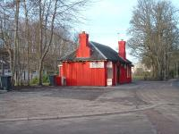 The old station building at Dornoch is now in the middle of a small industrial estate. It is in good condition and in use as a takeaway.<br><br>[John Gray&nbsp;18/02/2007]