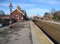Appleby station on 18 February looking north.<br><br>[John McIntyre&nbsp;18/02/2007]