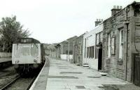 DMU standing at the terminus at Kilmacolm in 1977.<br><br>[Bill Roberton&nbsp;//1977]
