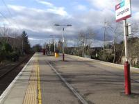 Island Platform at Langside... I like this photo.<br><br>[Colin Harkins&nbsp;26/02/2007]