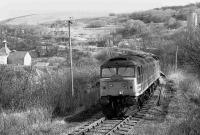 47617 with the <I>Last Train</I> to Dufftown on 24 March 1991.<br><br>[Bill Roberton&nbsp;24/03/1991]