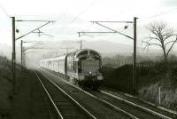D9000 with a special near Wallyford in 1996.<br><br>[Bill Roberton&nbsp;//1996]