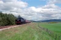 <i>When is a junction not a junction?</i> The lines from Forres (left) and Speyside (right) ran parallel to Boat of Garten. Re-opening day of line.<br><br>[Ewan Crawford&nbsp;31/05/2002]
