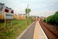 Drumfrochar, a new station on the line to Wemyss Bay. Looking to Port Glasgow.<br><br>[Ewan Crawford&nbsp;//]