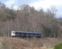 Inverness service passing through Birnam Woods. <i>Awa wi ye Macbeth</i><br><br>[Brian Forbes&nbsp;11/03/2007]