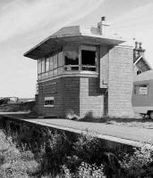 Abandoned sb at Grantown-on-Spey West in 1976.<br><br>[Bill Roberton&nbsp;//1976]