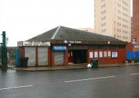 High Street station (and the Bacon Butty), March 2007.<br><br>[John Furnevel&nbsp;/03/2007]