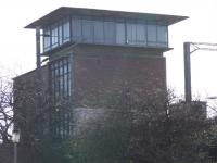 This building was my last charge as a Signaller.. Cathcart Power Signal Box. It controls the Cathcart Circle, Neilston Line and the Kirkhill Branch Lines. <br><br>[Colin Harkins&nbsp;18/02/2007]