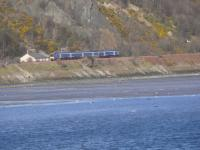 Heading north around Pettycur Bay to Kinghorn.<br><br>[Brian Forbes&nbsp;15/03/2007]