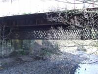Disused Walkway over the River Cart to Cathcart Station.<br><br>[Colin Harkins&nbsp;18/02/2007]