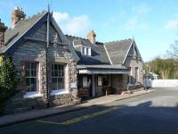 Aberdour station frontage, March 2007.<br><br>[Brian Forbes&nbsp;19/03/2007]