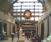 Interior view of d'Orsay Museum, Paris, formerly a railway station serving south-west France.<br><br>[Alistair MacKenzie&nbsp;12/11/2002]