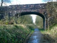 Forth and Clyde Junction Railway, road bridge next to Gairdrew farm.<br><br>[Alistair MacKenzie&nbsp;22/03/2007]