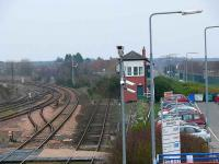 Leuchars Junction. Apart from the main lines (silvertops) the others are supernumerary at Leuchars North.<br><br>[Brian Forbes&nbsp;25/03/2007]