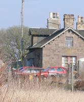 Rear of station building at Inchture, not Redcar.<br><br>[Brian Forbes&nbsp;25/03/2007]