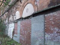 Platform Side of Station Building. The once bustling Archways blocked up. Looks like some maintaince may be needed. <br><br>[Colin Harkins&nbsp;27/03/2007]