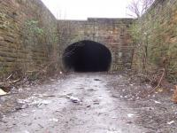 Looking towards the cleared portal of Bridgeton Central tunnel.<br><br>[Colin Harkins&nbsp;29/03/2007]